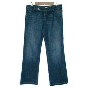 DKNY Dark Wash Denim Trouser Jeans
